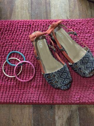 Comfit wedge summer sandals