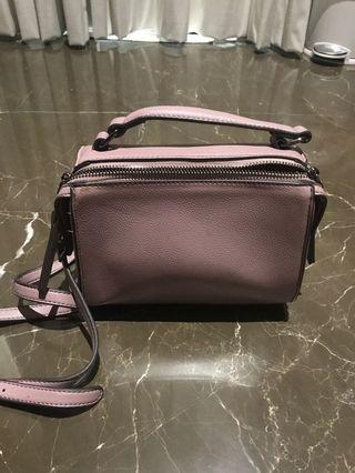 Purple mini sling Bag