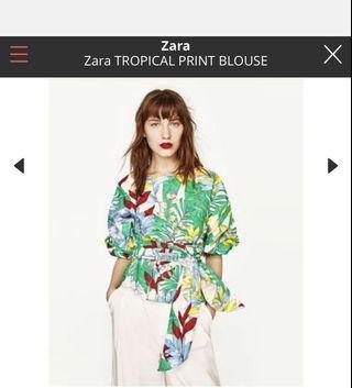 Zara Tropical Floral Too