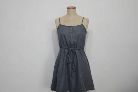🚚 Grey Summer Dress