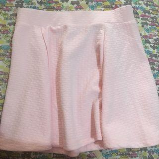 Rok / short skirt pink pattern minimal