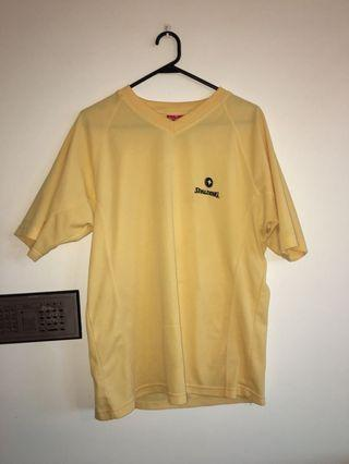Spalding yellow top