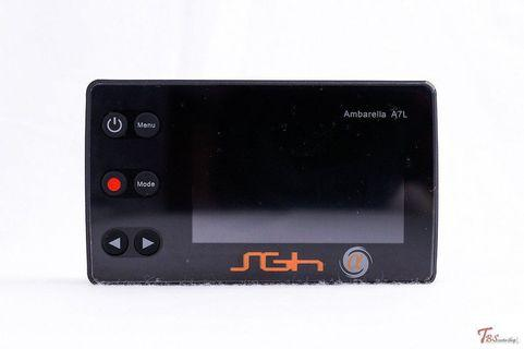 A pair of SGH ALPHA 1080P DRIVING RECORDS FOR MOTORBIKE