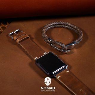 Oxford Leather Bracelet in Brown