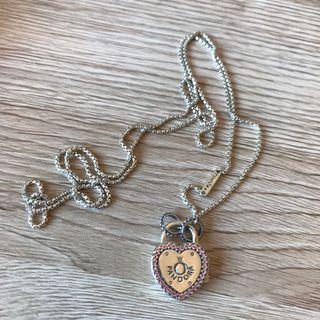 Pandora necklace heart