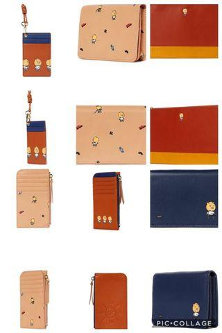 [PO] KAKAO FRIENDS GENTLEMAN RYAN CLUTCH BUSINESS CARD CASE WALLET NECK