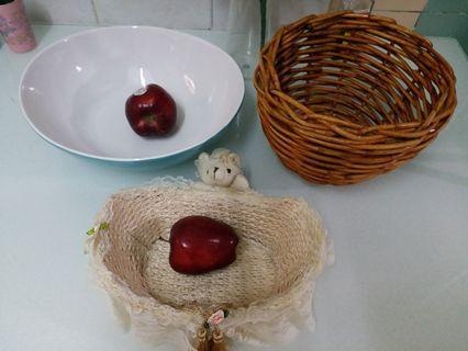 兩個籃+陶瓷