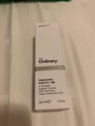 The Ordinary Hyaluronic Acid +B5
