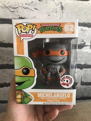 Funko Pop! Coast City Styles Exclusive - Michelangelo (Grayscale) #62