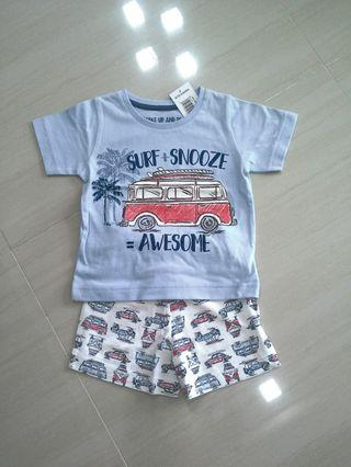 🚚 Brand NEW  Boys Shortie Set