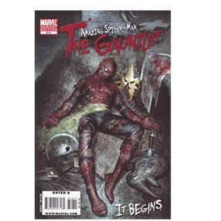 the amazing spiderman the gauntlet