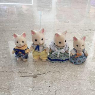 Sylvanian Families: Silk Cat Family