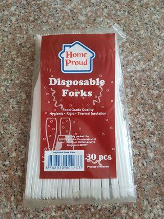 🚚 Disposable Forks