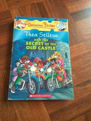 Thea Stilton Books, Thea Stilton and the secret of the old castles