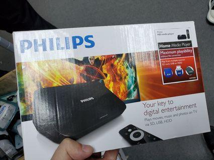 Philips hmp4000 媒體播放器