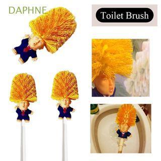Donald Trump Toilet Brush Long Handle Household Holders WC
