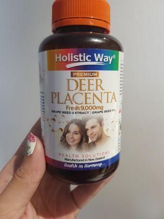 Authentic Holistic Way Deer Placenta Supplement