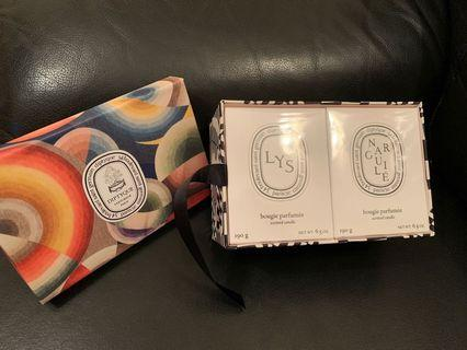 Diptyque scented candle lys narguile , jo malone