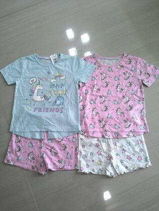 🚚 Brand NEW Girls Mix & Match Shorties ( Pack Of 2 Sets )