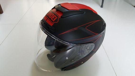 SHOEI J FORCE L Size like new.