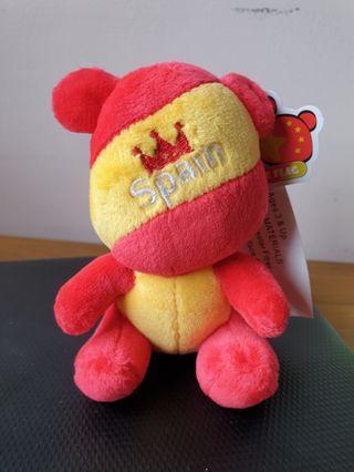 Spain Flag Bear