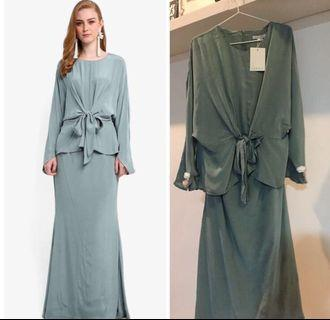 Lubna Tied Knot Front Kurung