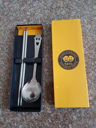 🚚 Spoon and Chopstick Set