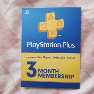 Playstation Plus / PS Plus 3 Bulan Reg Asia