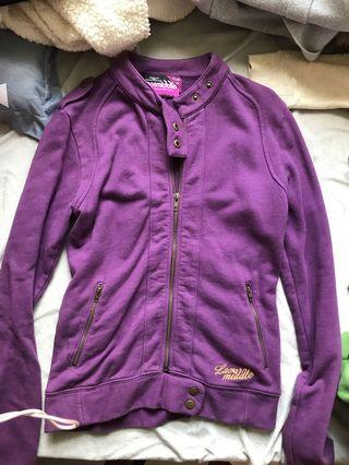 Laosmiddle purple jacket