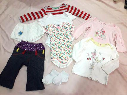 🚚 Baby Girl clothes 9 - 12 months