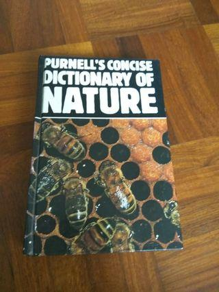 🚚 Purnell's concise dictonary of nature