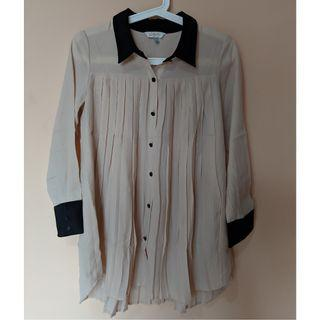 Lily Pleated Blouse
