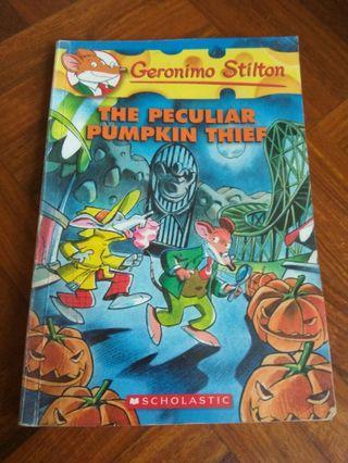 Geronimo Stilton, the peculiar pumpkin thief