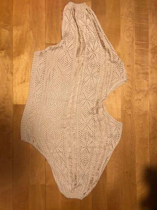 Pale Pink Crochet Top