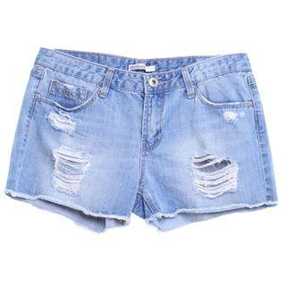 Denim Shorts Stradivarius