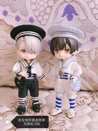 🚚 Clothes for 1/12 doll - Little Sailor