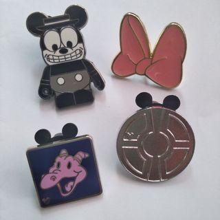 迪士尼襟章 $50@4 包平郵