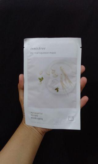 Innisfree Sheet Mask