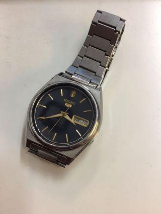 Seiko 5 Day Date Automatic Watch