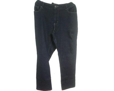 #mauvivo No Brand - Navy Midrise Skinny Jeans (Big Size)