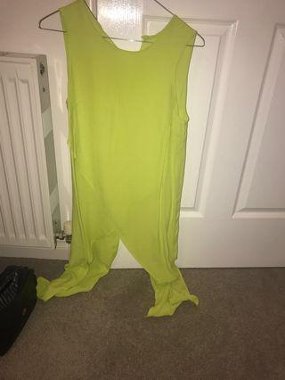 Lime top size 8
