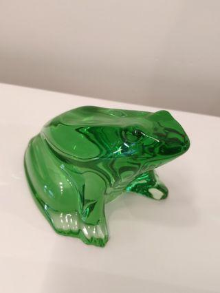 baccarat crystal - frog