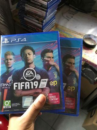 fifa19 new and sealed