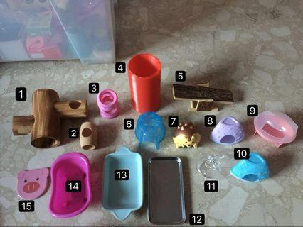 Barely Used Hamster Accessories for Sale