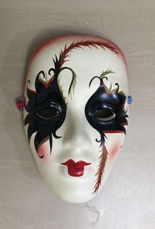 Ceramic Pottery Face Mask