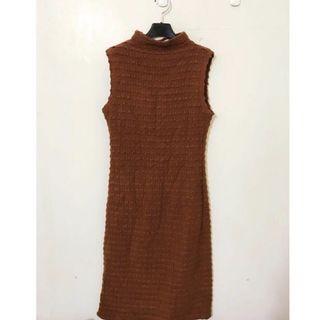 🚚 正韓 原價2480 無袖荷葉邊洋裝