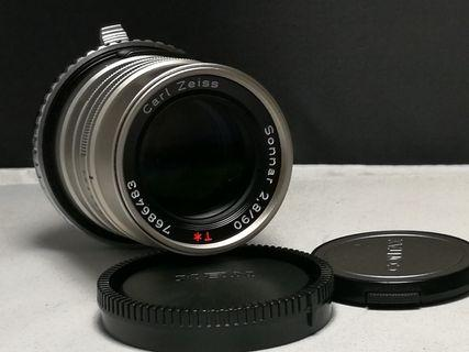 Contax G90 mm F2.8 with sony adapter