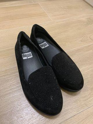 Fitflop 黑色平底鞋 size 37