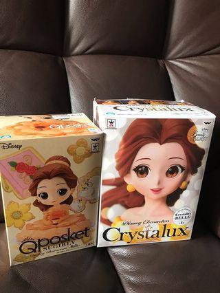 Qposket belle貝兒特別色/crystalux貝兒belle公主