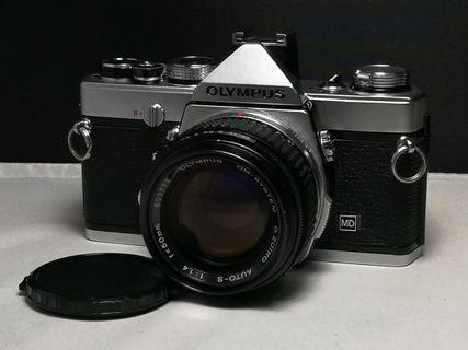 Olympus OM1 MD with 50mm f1.4 film camera